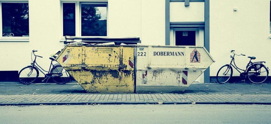 פינוי פסולת בניין מחיר